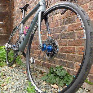 handbuilt wheels on trek domane